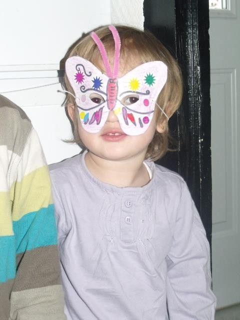 Masques carnaval deguisement ect - Masque papillon carnaval ...